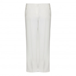 MARINA RINALDI WIDE LEG WHITE TROUSER - Plus Size Collection