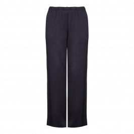 Marina Rinaldi navy satin palazzo TROUSERS - Plus Size Collection