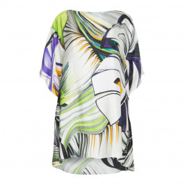 MARINA RINALDI 100% SILK TUNIC  - Plus Size Collection