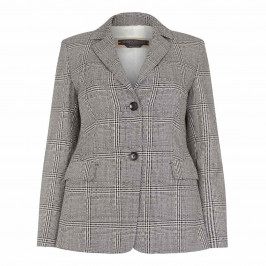 Marina Rinaldi Prince of Wales jacket - Plus Size Collection