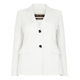 Marina Rinaldi cream tailored classic JACKET