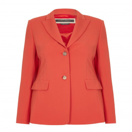 MARINA RINALDI SINGLE-BREASTED BLAZER - Plus Size Collection