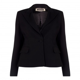 Marina Rinaldi black tailored cady JACKET - Plus Size Collection