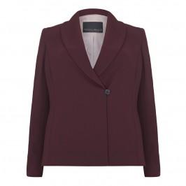 Marina Rinaldi bordeaux suiting jacket - Plus Size Collection