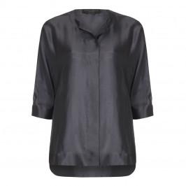 Marina Rinaldi pewter silk  JACKET - Plus Size Collection