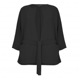 Marina Rinaldi relaxed suiting JACKET in black - Plus Size Collection