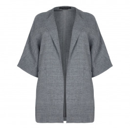 Marina Rinaldi LONG grey JACKET - Plus Size Collection