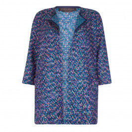 Marina Rinaldi Multicolour tweed Jacket - Plus Size Collection