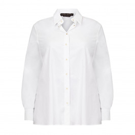 MARINA RINALDI WHITE SHIRT 100% COTTON - Plus Size Collection