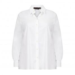 MARINA RINALDI WHITE SHIRT 100% COTTON - Plus Size Collection