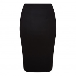 MARINA RINALDI BLACK STRETCH JERSEY PENCIL SKIRT - Plus Size Collection