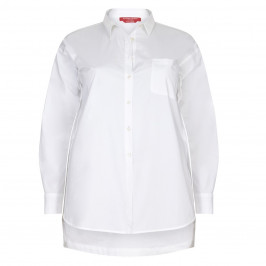 Marina Rinaldi white sport SHIRT - Plus Size Collection
