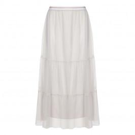 Marina Rinaldi ECRU layered tulle SKIRT - Plus Size Collection