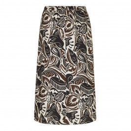 Marina Rinaldi botanical print SKIRT - Plus Size Collection