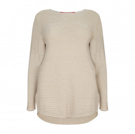 MARINA RINALDI LUREX SPORT SWEATER - Plus Size Collection