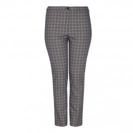 MARINA RINALDI tailored monochrome TROUSERS - Plus Size Collection