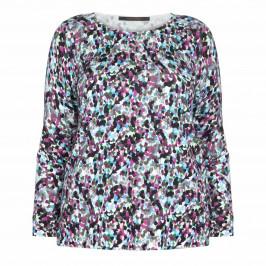 MARINA RINALDI DITSY PRINT SWEATER - Plus Size Collection