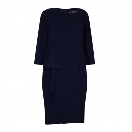 Marina Rinaldi navy crepe DRESS - Plus Size Collection