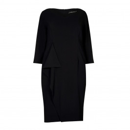Marina Rinaldi black crepe DRESS - Plus Size Collection
