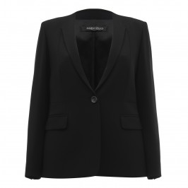 MARINA RINALDI black tailored JACKET - Plus Size Collection
