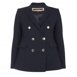 Marina Rinaldi navy double breasted blazer - Plus Size Collection