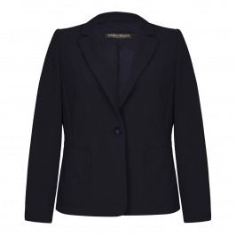 Marina Rinaldi navy tailored JACKET - Plus Size Collection