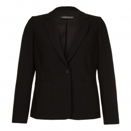 Marina Rinaldi black tailored classic JACKET - Plus Size Collection