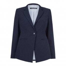 MARINA RINALDI  polka dot JACKET - Plus Size Collection