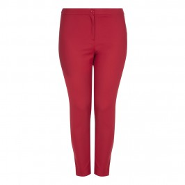 Marina Rinaldi Red TROUSERS - Plus Size Collection