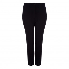 Marina Rinaldi black narrow leg TROUSERS - Plus Size Collection