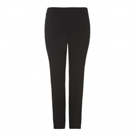 MARINA RINALDI BLACK FRONT PLEAT TROUSERS - Plus Size Collection
