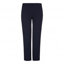 MARINA RINALDI polka dot palazzo TROUSERS - Plus Size Collection