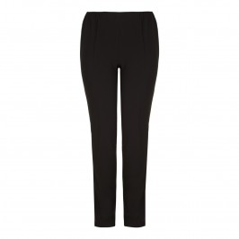 Marina Rinaldi straight leg black TROUSERS - Plus Size Collection
