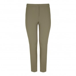 Marina Rinaldi khaki slim leg TROUSERS - Plus Size Collection
