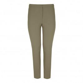 Marina Rinaldi khaki slim leg TROUSERS - Plus Size Collection