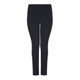 Marina Rinaldi navy slim leg TROUSERS - Plus Size Collection