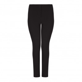 Marina Rinaldi slim leg black TROUSERS - Plus Size Collection