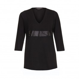 Marina Rinaldi black Tunic - Plus Size Collection