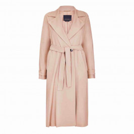 MARINA RINALDI BELTED TRENCH COAT BEIGE