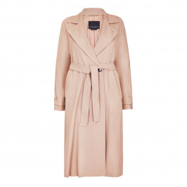 MARINA RINALDI BELTED TRENCH COAT BEIGE - Plus Size Collection