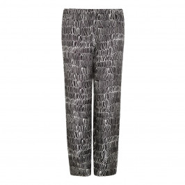 Marina Rinaldi Silk Print Trouser - Plus Size Collection