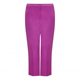 MARINA RINALDI TROUSER MAGENTA - Plus Size Collection