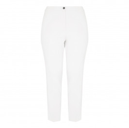 Marina Rinaldi cream narrow leg TROUSERS - Plus Size Collection