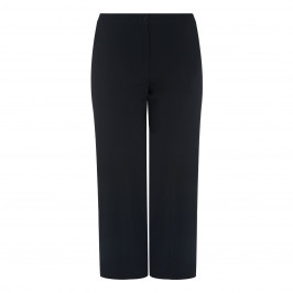 Marina Rinaldi black Satin Band TROUSERS - Plus Size Collection