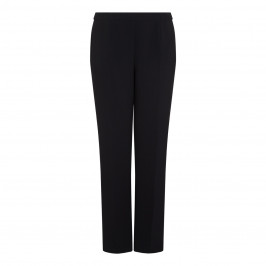 Marina Rinaldi Black Tailored Straight Leg Trouser - Plus Size Collection