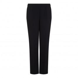 Marina Rinaldi Black Tailored Straight Leg Trouser - Plus Size Collection