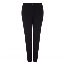 MARINA RINALDI BLACK TROUSERS NARROW LEG - Plus Size Collection