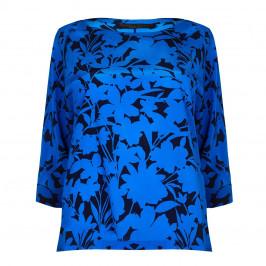 Marina Rinaldi royal blue silk Tunic - Plus Size Collection