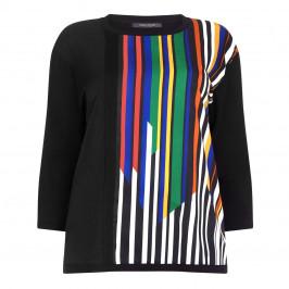 Marina Rinaldi vertical stripe Tunic - Plus Size Collection