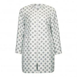 Marina Rinaldi Jacquard COAT - Plus Size Collection